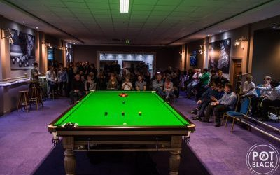 A night with Steve Davis